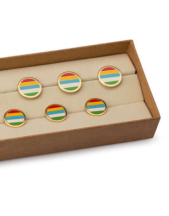 Mayo Colours Buttons set of 13