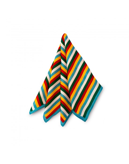 Mayo Colours Pocket Square